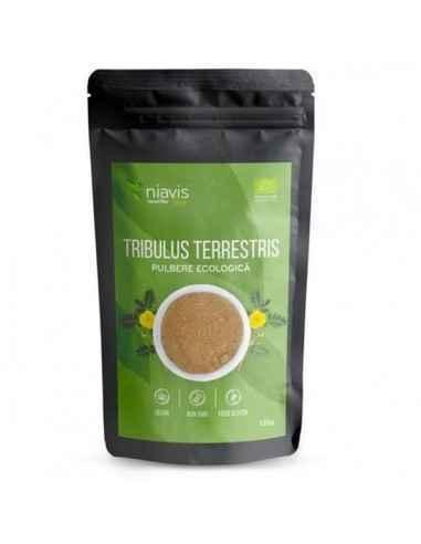 TRIBULUS TERRESTRIS PULBERE ECOLOGICA (BIO) 125GR - Niavis Tribulus Terrestris este o planta folosita inca din cele mai vechi ti