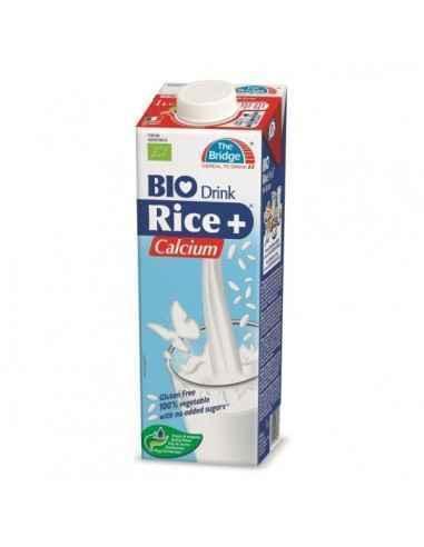 LAPTE (BIO) DIN OREZ CU CALCIU 1L - My Bio Natur Alternativa la lapte, fara colesterol, fara gluten, 100% vegetal, fara adaos de