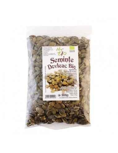 SEMINTE DE DOVLEAC-(BIO) 200GR - My Bio Natur Semintele de dovleac sunt apreciate pentru mentinerea sanatatii prostatei, datorit