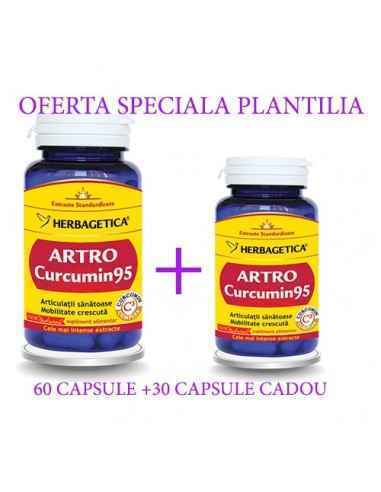 Artro Curcumin95 60+30 cps CADOU Herbagetica