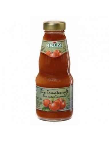 SUC (BIO) DE TOMATE 200ML (POLZ) - My Bio Natur Continut de legume: 100% - usor sarat, fara adaos de zahar.