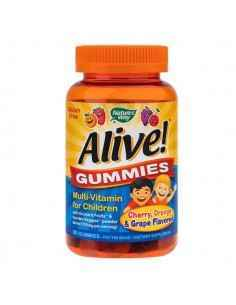 ALIVE-GUMMIES MULTIVITAMIN FOR CHILDREN 90JELEURI - Secom