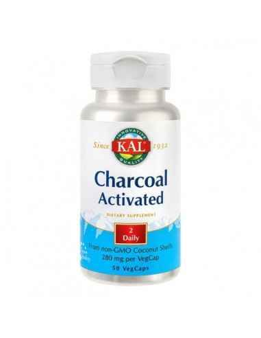 CHARCOAL ACTIVATED 50CPS - Secom Carbune medicinal ce ajuta la scaderea disconfortului abdominal.
