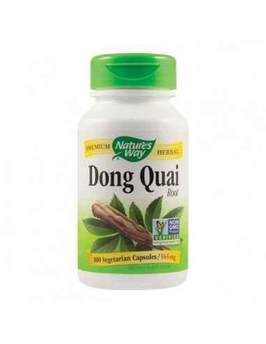 DONG QUAI ROOT 100CPS - Secom Tonic feminin eficient cu actiune polivalenta la nivel hormonal.