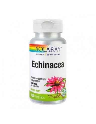 ECHINACEEA 460MG 100CPS - Secom Formula complexa pe baza de Echinaceea cu rol in imbunatatirea sistemului imunitar.
