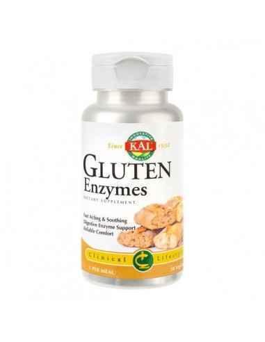 GLUTEN ENZYMES 30CPS - Secom Contribuie la digestia glutenului si a cazeinei. Sustine digestia si asimilarea nutrientilor.