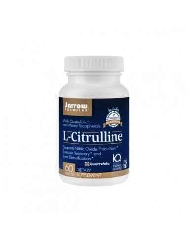 L-CITRULLINE 60CPR - Secom Ajuta la mentinerea nivelul normal al tensiunii arteriale si stimuleaza detoxifierea hepatica.