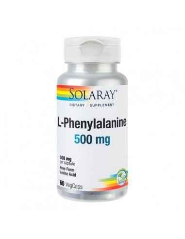 L-PHENYLALANINE 60CPS - Secom Aminoacid esential cu rol in imbunatatirea activitatii sistemului nervos.