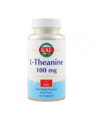 L-THEANINE 100MG 30CPR - Secom Aminoacid neesential cu rol in reducerea stresului si a iritabilitatii.