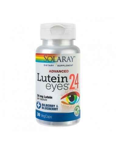 LUTEIN EYE ADVENCED 30CPS - Secom Formula complexa pe baza de antioxidanti si extracte din plante cu rol in protejarea retinei s