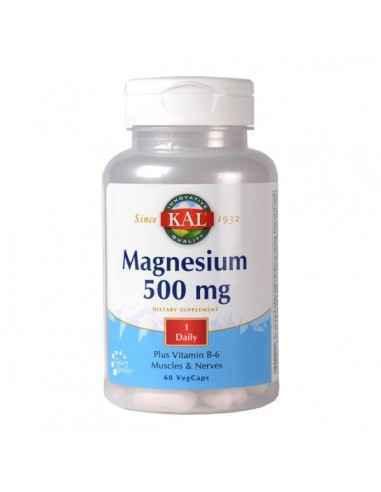 MAGNESIUM 60CPS - Secom Ajuta la reducerea oboselii si extenuarii.