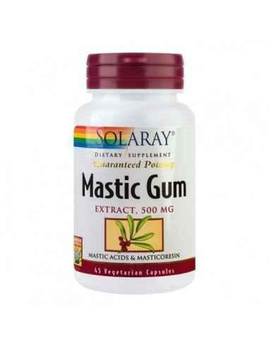 MASTIC GUM 45CPS - Secom Ajuta impotriva dezechilibrelor gastrointestinale.