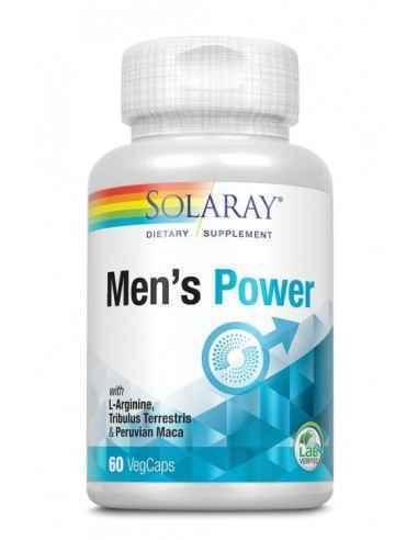 Men's Power 60cps Secom  Formula complexa ce asociaza aminoacizi si extracte vegetale, cu rol in sustinerea functiei sexuale ma