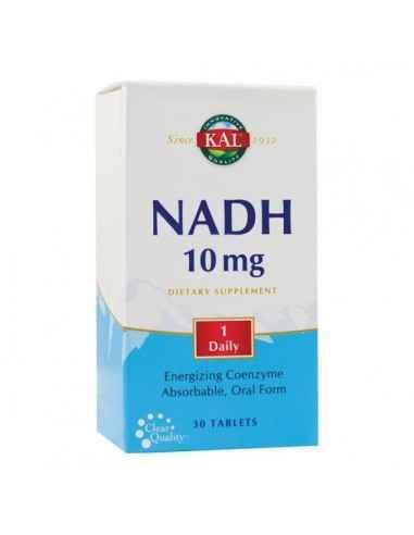 NADH 10MG 30CPR - Secom Participa la producerea energiei in toate celulele organismului si la imbunatatirea functiilor cerebral
