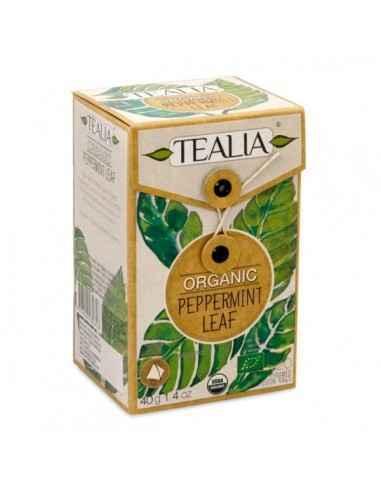 ORGANIC PEPPERMINT CEAI 20DZ - Secom Ceai organic din frunza de menta.