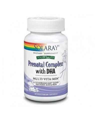 PRENATAL COMPLEX+DHA 30CPS - Secom Ajuta la completarea necesarului de nutrienti al femeii in perioada de preconceptie, sarcina