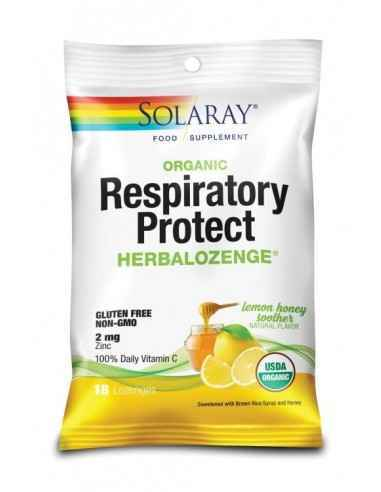 RESPIRATORY PROTECT LEMON HONEY SOOTHER 18DROPSURI - Secom Comprimate de supt in forme de administrare ambalate individual, care