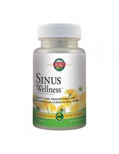 SINUS WELLNESS 30CPR - Secom Formula complexa cu rol in drenarea si eliberarea sinusurilor.