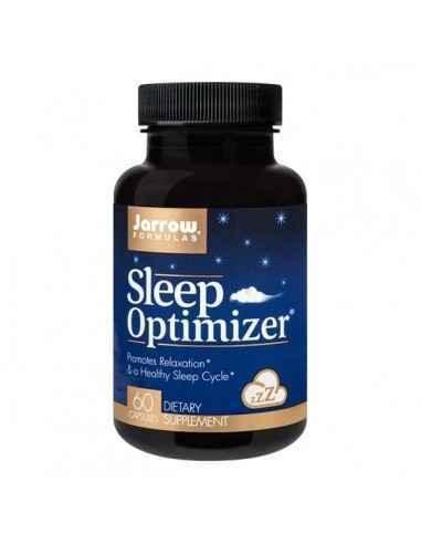 SLEEP OPTIMIZER 60CPS - Secom Asociere de ingrediente ce contribuie la reducerea tulburarilor de somn si reglarea ritmului circa
