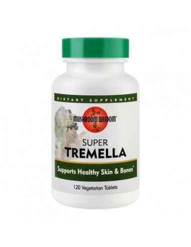 SUPER TREMELLA 120CPR - Secom Ciuperca medicinala ce ajuta la imbunatatirea sanatatii si aspectului pielii.