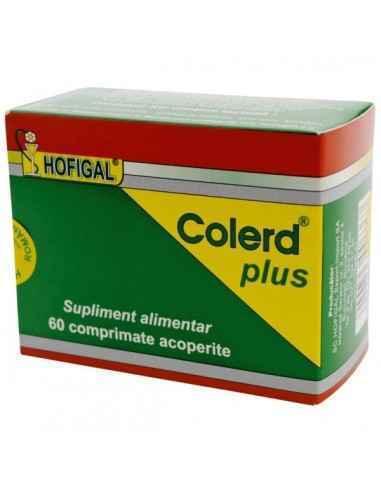 COLERD PLUS 60CPR - Hofigal Normalizeaza nivelul colesterolului din sange.