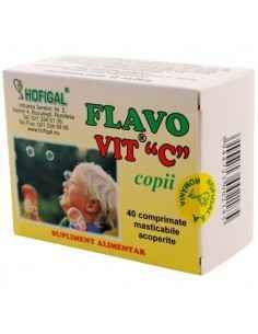 FLAVO VIT C COPII 40CPR - Hofigal