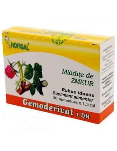 GEMODERIVAT ZMEUR 30MONODOZE - Hofigal Actiune benefica asupra aparatului genital feminin, de echilibrare a functiilor axei hipo