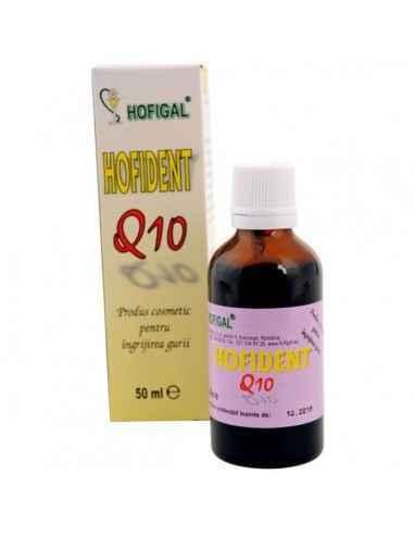 HOFIDENT 50ML - HofigalProdus cosmetic cu proprietati dezodorizante si dezinfectante pentru cavitatea bucala. Produs testat derm