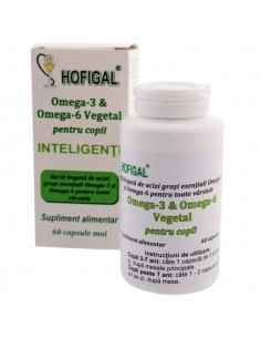 OMEGA 3 & OMEGA 6 VEGETAL PT COPII - Hofigal