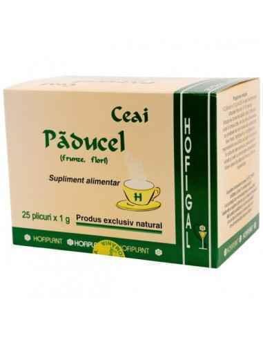 PADUCEL 25DZ - Hofigal Continutul bogat in nutrienti si substante bioactive confera ceaiul de paducel - frunze si flori propriet