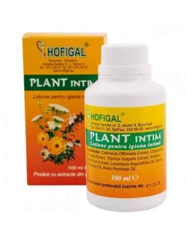 PLANT INTIM SOLUTIE 100ML - Hofigal Are actiune antiseptica, bacteriostatica, antifungica.