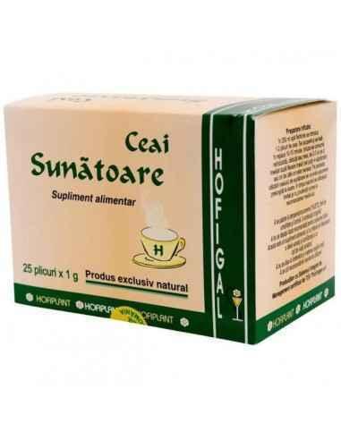 SUNATOARE 25DZ - Hofigal Continutul bogat in nutrienti si substante bioactive confera ceaiului de sunatoare proprietati complexe