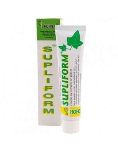 SUPLIFORM 75ML - Hofigal Produsul cosmetic Supliform, datorita substantelor bioactive din compozitie si a efectelor sinergice di