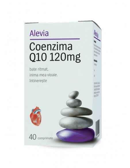 Coenzima Q10 120mg 40 cpr Alevia