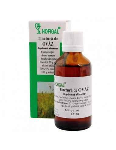 TINCTURA OVAZ 50ML - Hofigal Joaca un rol in functionarea normala a sistemului imunitar si creste rezistenta organismului.
