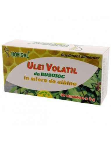 ULEI BUSUIOC IN MIERE 30MONODOZE - Hofigal Produs valoros care asigura un aport bogat de substante bioactive in suplimentarea di