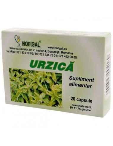 URZICA VIE 20CPS - Hofigal Asigura necesarul de fitonutrienti in echilibrarea dietei pentru functionarea normala a aparatului re