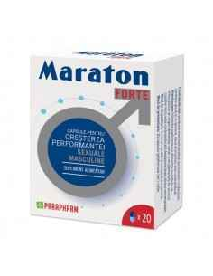 Maraton forte 20 cps Parapharm, Maraton forte 20 capsule ParapharmCapsule pentru creșterea performanței sexuale masculine. Efica