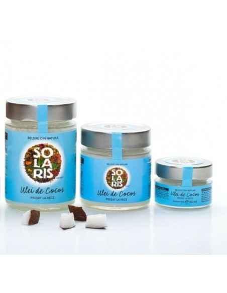 Ulei cocos 300ml+200 ml+Cadou 40ml Solaris