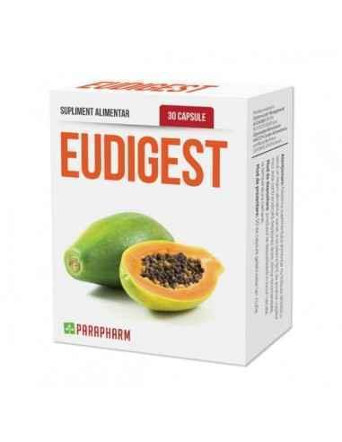 Eudigest capsule pt. uşurarea digestiei, 30cp - Parapharm Eudigest are un rol adjuvant in stimularea si imbunatatirea digestiei