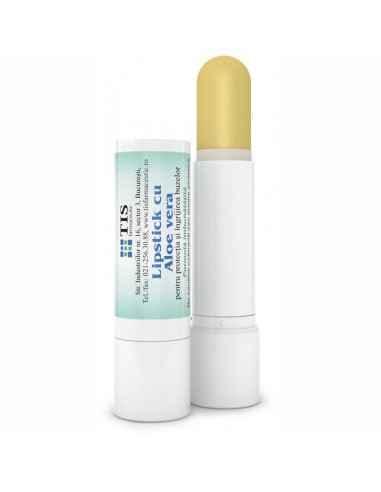 Lipstick cu Aloe Vera 4 g Tis Hidratant, emolient şi protector; recomandat pentru îngrijirea buzelor uscate, crăpate şi afecta