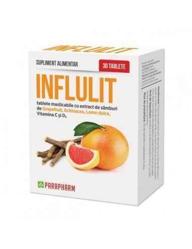 Influlit tablete, 30tab - Parapharm Acest supliment alimentar este destinat intaririi sistemului imunitar. Compozitia speciala i