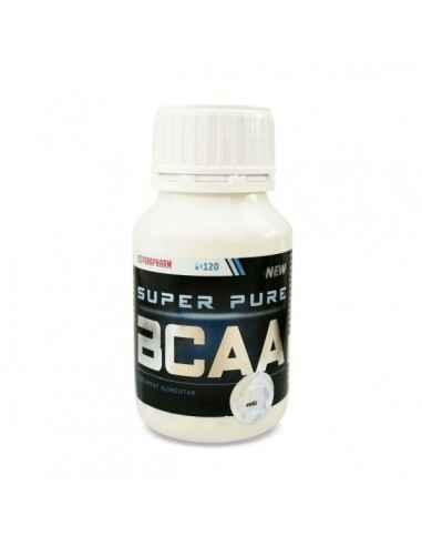 Super pure BCAA, 120 cp - Parapharm Aminoacizii esentiali cu catene ramificate (essential branched chain amino acids BCAA) inclu