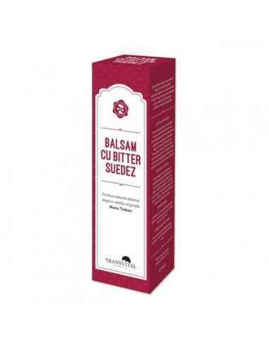 Balsam cu Bitter Suedez, 125ml - Transvital Quantum Acest produs natural este obtinut dupa o metoda originala experimentata de-a