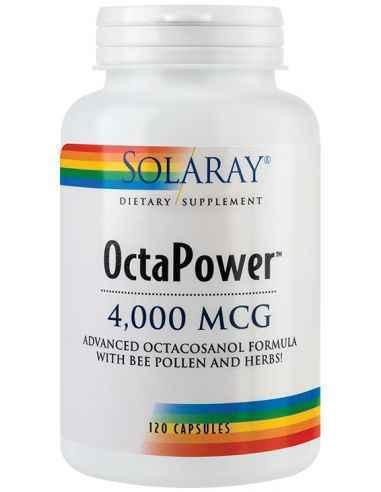 OctaPower 120 capsule Solaray Ajuta la cresterea energiei, vitalitatii si oxigenarii celulare.