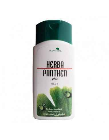 Herba panthen plus -loţiune capilară, 150ml - Transvital Quantum Extractele din plante cresc circulatia sanguina la nivelul rad