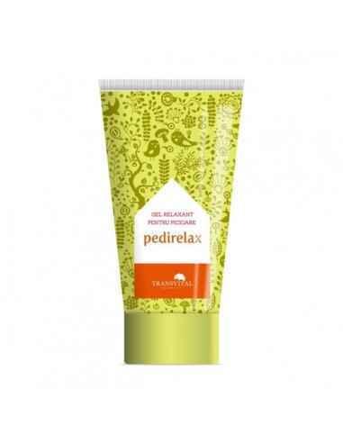 Pedirelax-gel relaxant pentru picioare, 150ml - Transvital QuantumHraneste si regenereaza pielea datorita continutului ridicat d