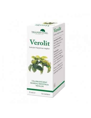 Verolit, 5 ml - Transvital Quantum Se recomanda pentru tratarea negilor nepigmentati (albi); eficienta preparatului creste, dac