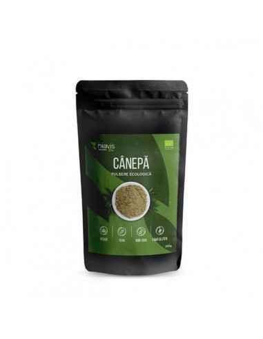 CANEPA PULBERE ECOLOGICA(BIO) 250GR - Niavis Canepa este unul dintre alimentele perfecte ale naturii, un super-aliment care este