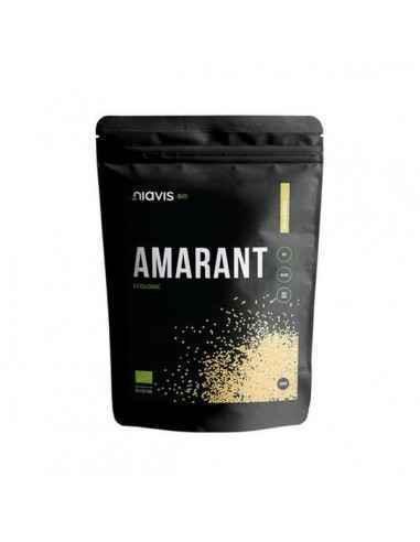 AMARANT ECOLOGIC (BIO)500GR - Niavis Amarantul face parte din categoria supercerealelor fiind unul din cele mai nutritive alimen